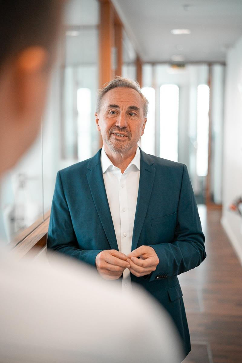 Reinhold Rapp in der Unternehmensberatung München
