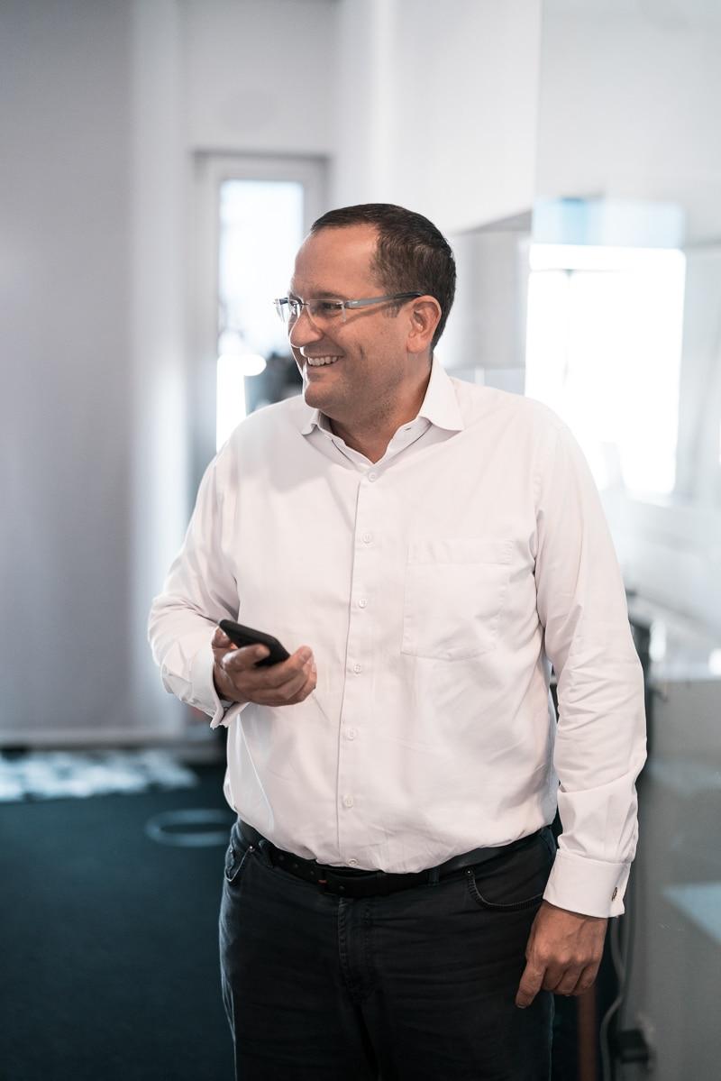 Armin Iskander bei der Unternehmensberatung München