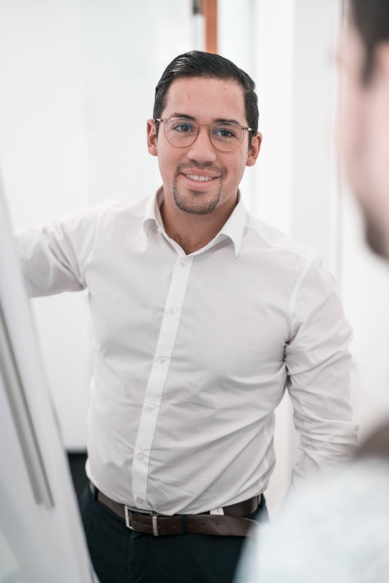 Michael Morf in der Unternehmensberatung