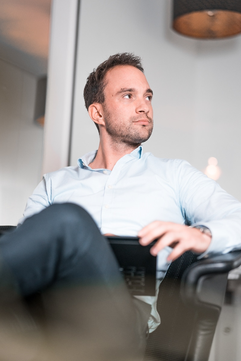 Michael Strelow im Team der Unternehmensberatung