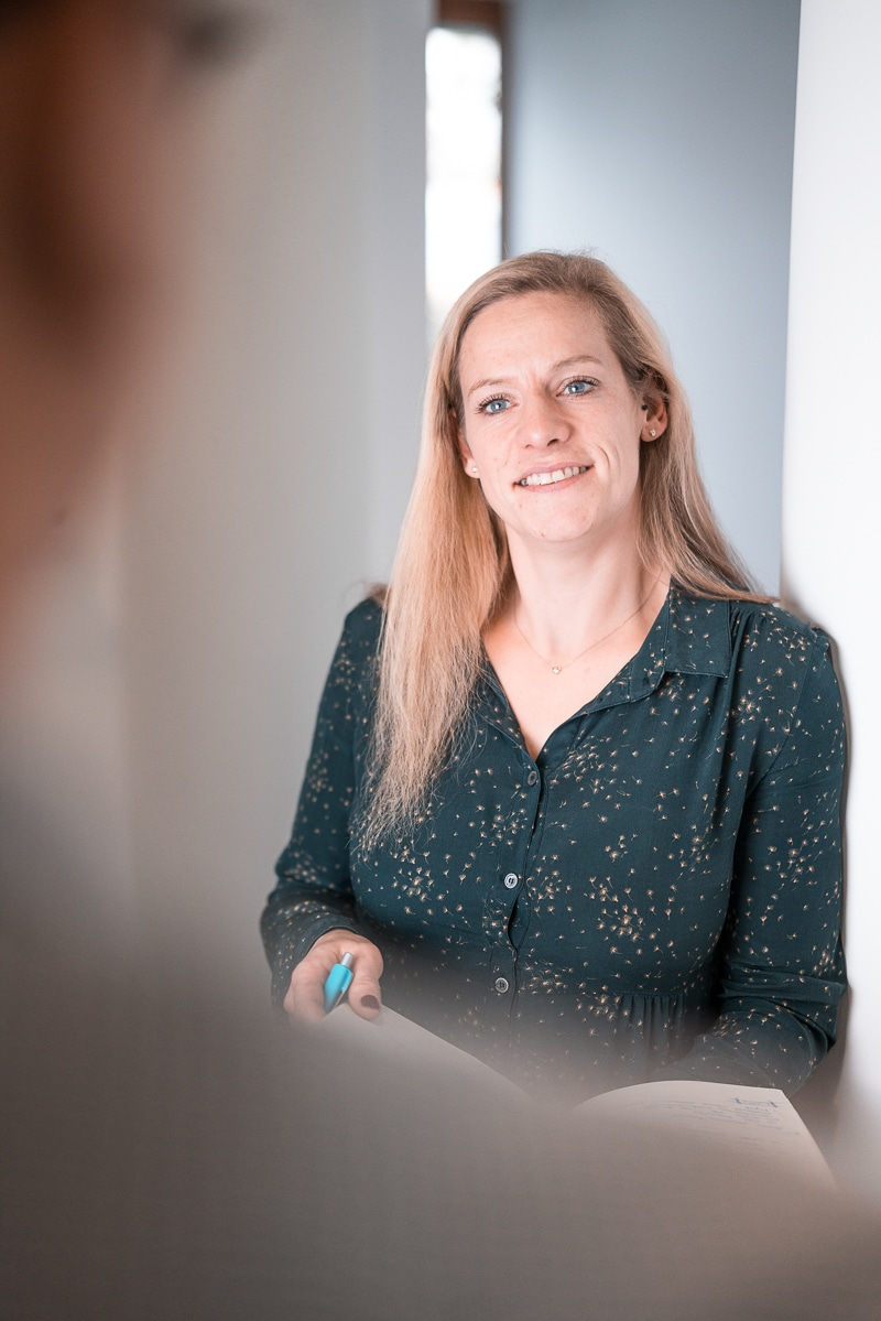 Andrea Courte bei der Unternehmensberatung Düsseldorf