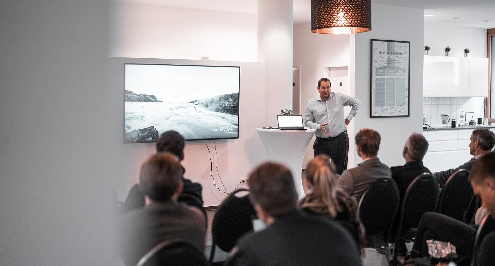 Vortrag von Armin Iskander bei der Unternehmensberatung München