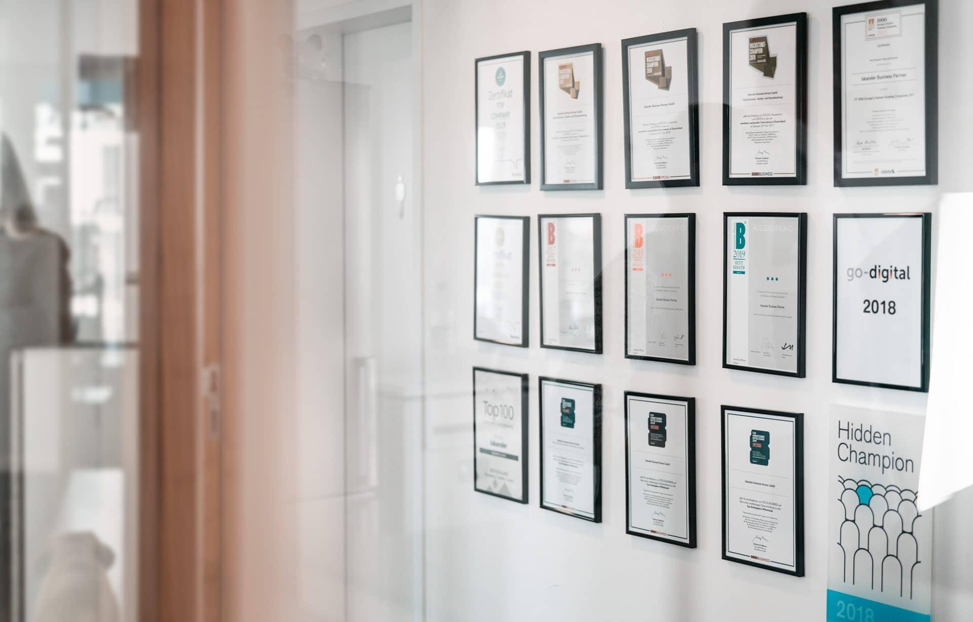 Erfolgsgeschichte endet mit Auszeichnungen