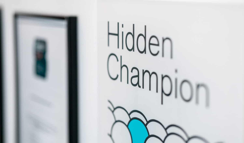 IBP in Düsseldorf gewinnt die Hidden Champion Auszeichnung