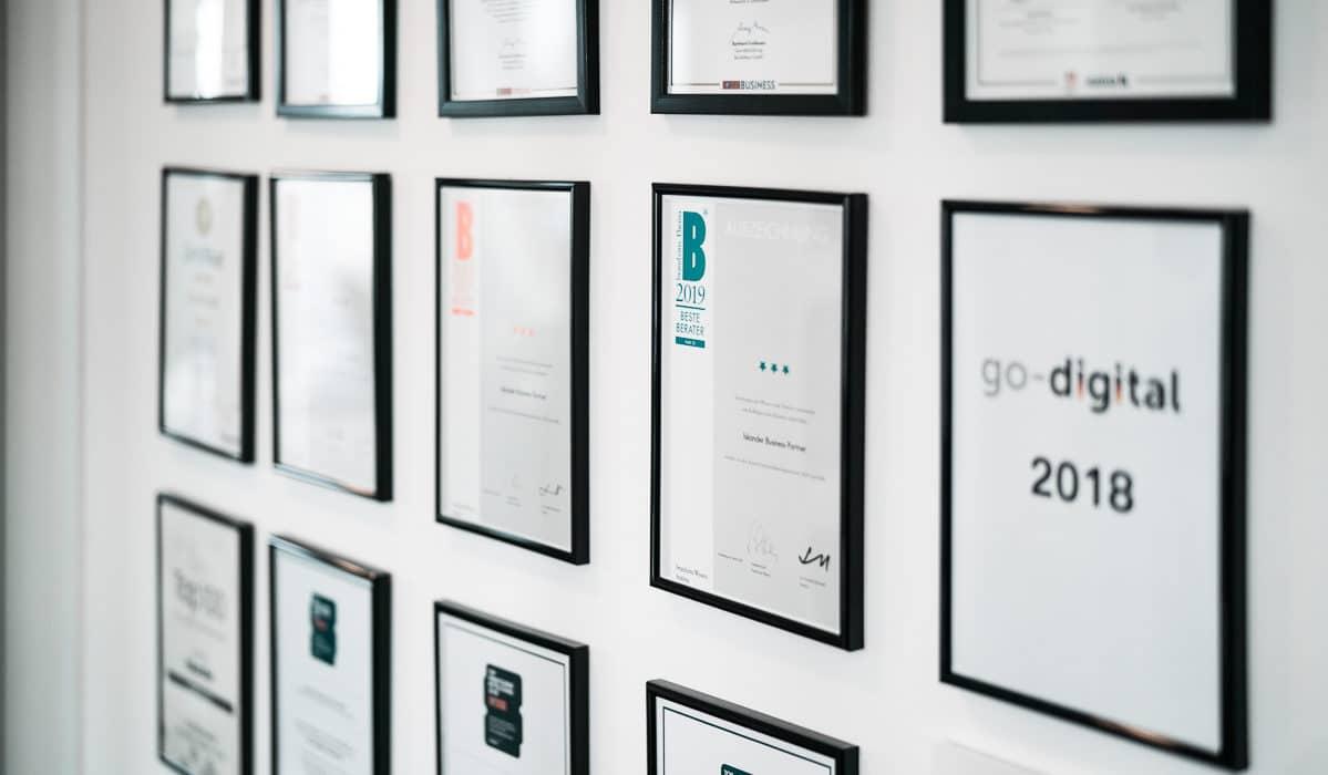 Auszeichnung Hidden Champion unserer Unternehmensberatung
