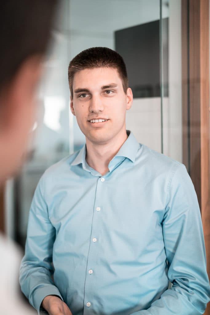 Sören Karnstädt bei der Unternehmensberatung in Düsseldorf