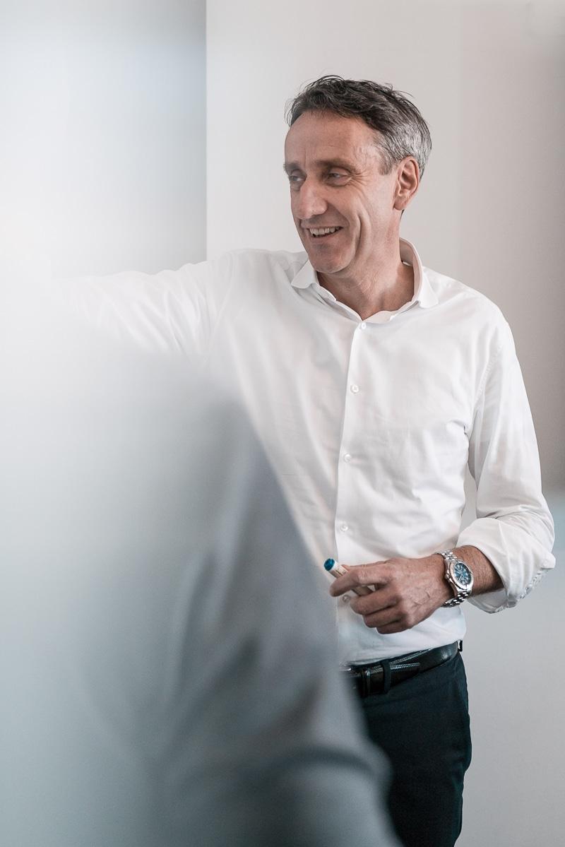 Dr. Stefan Kaas bei der Unternehmensberatung in München