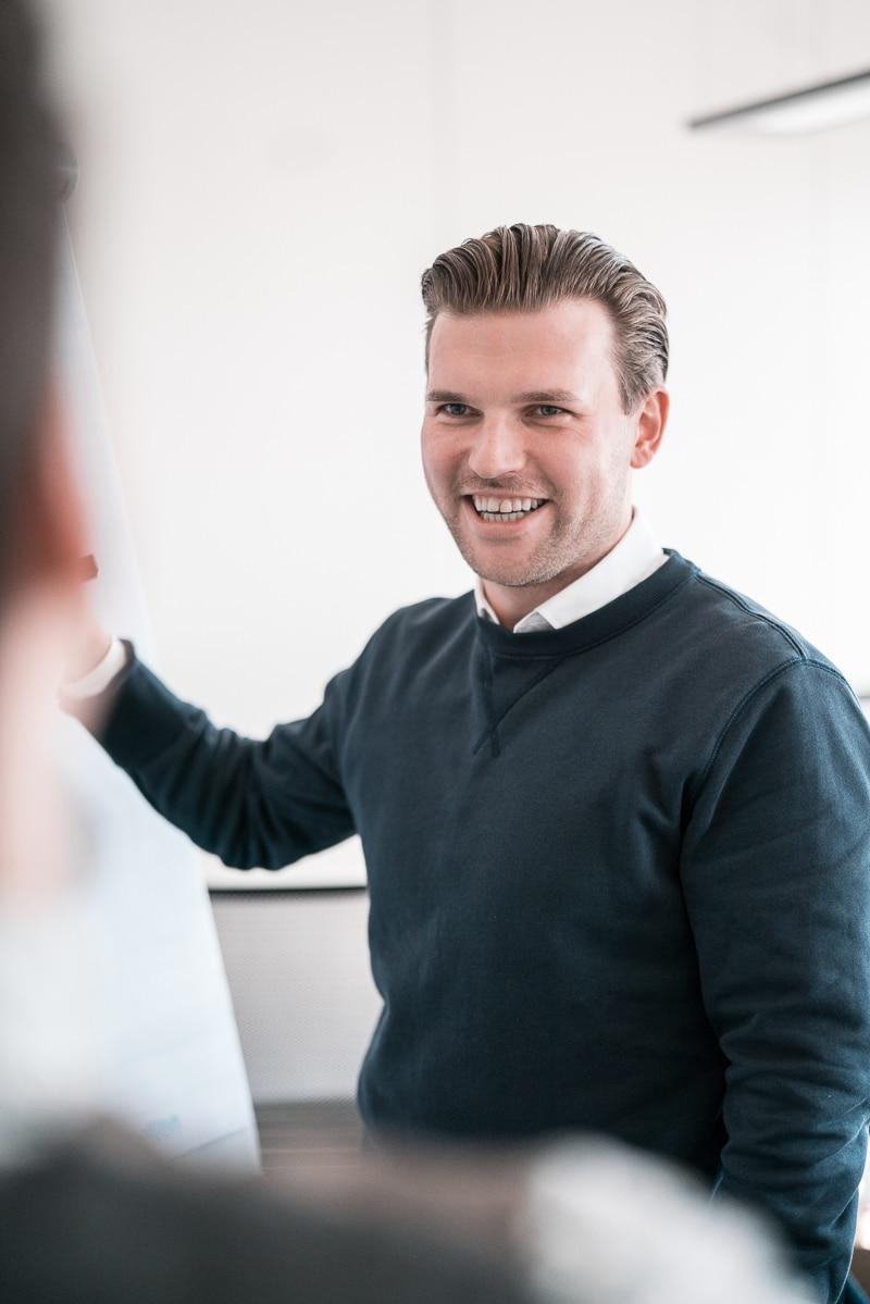 Lars Jurischka bei dem Unternehmensberater in München